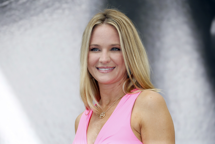 Sharon Case on the red carpet