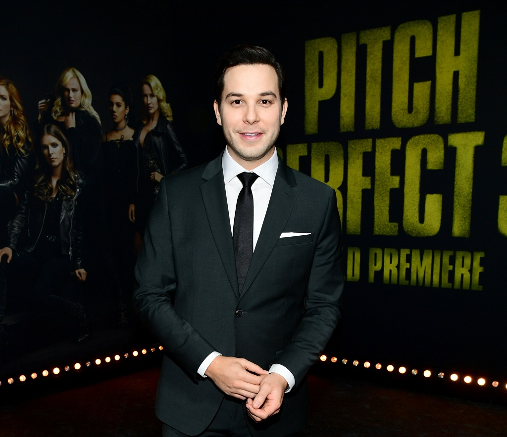 Skylar Astin at the premiere of Universal Pictures' 'Pitch Perfect 3' 'on December 12, 2017