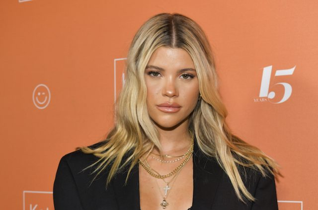 Sofia Richie Aspires to be Recognized as an Activist