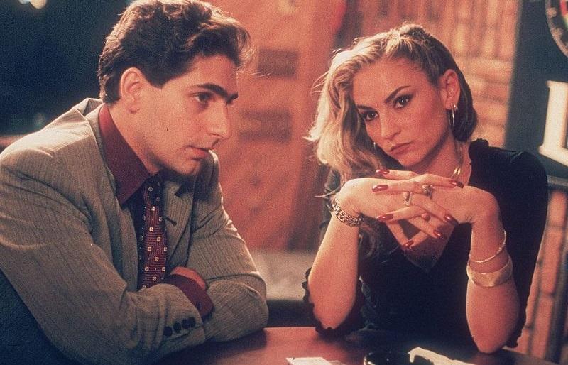 'Sopranos' stars Michael Imperioli and Drea de Matteo doing a scene