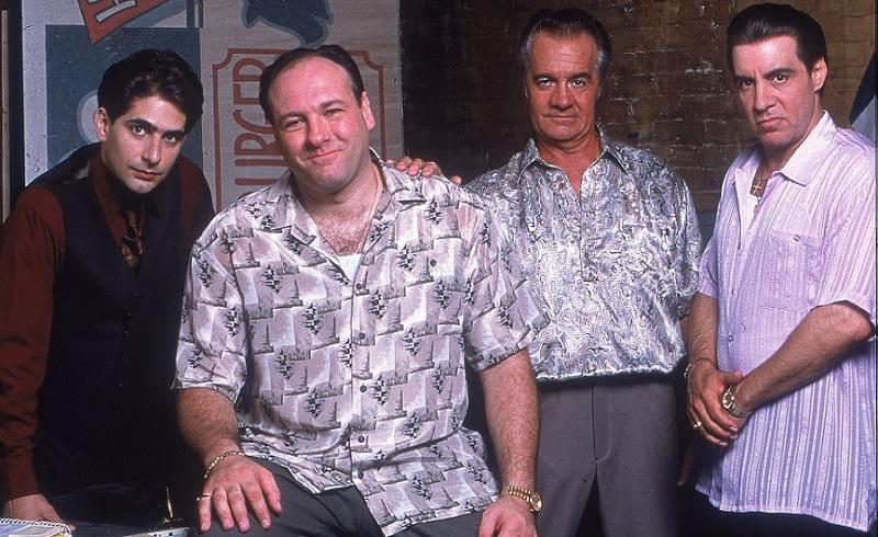 'Sopranos' crew relaxed