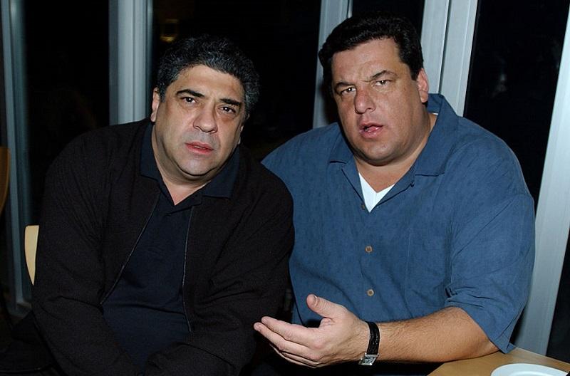 Vincent Pastore and Steve Schirripa