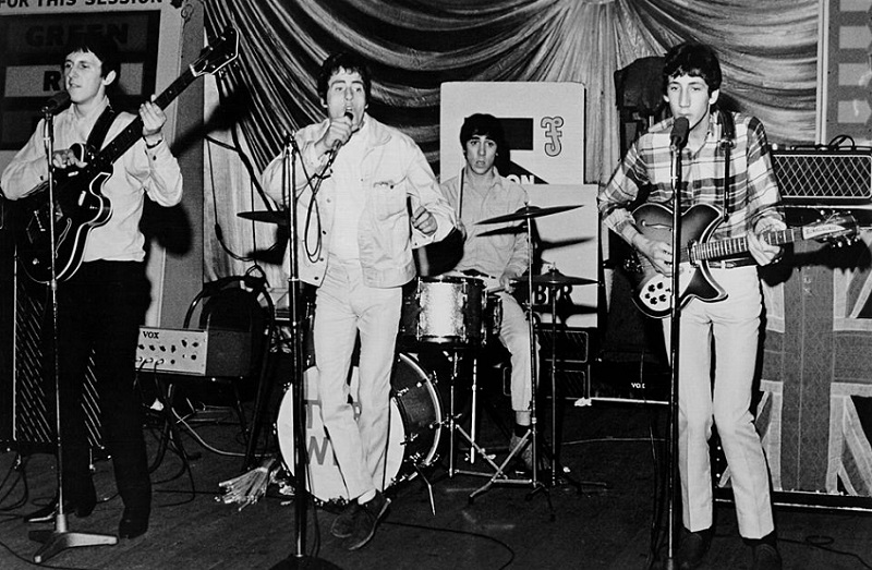 The Who performing in 1964