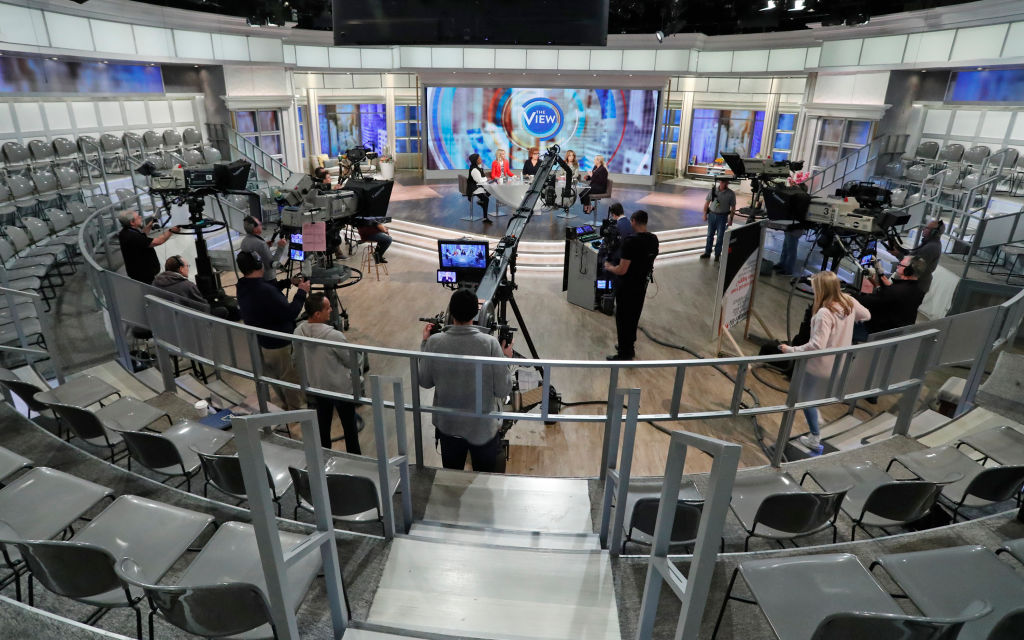 The set of 'The View'