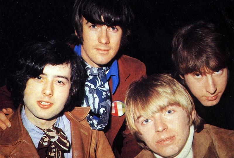 Yardbirds in the Jimmy Page era