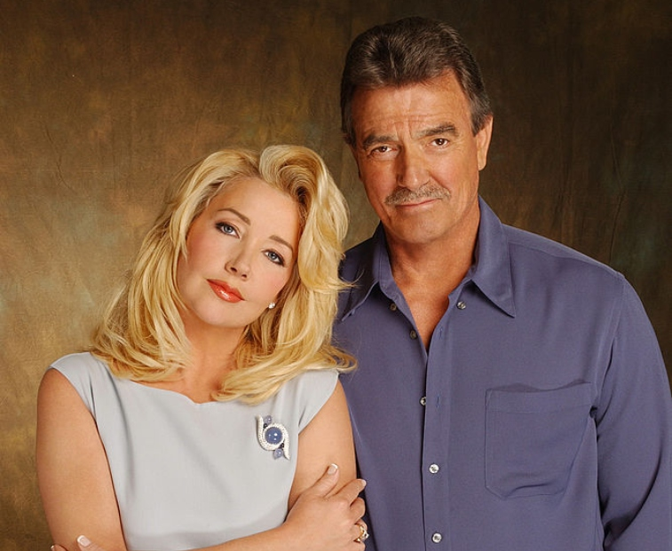 'The Young and the Restless' stars Eric Braeden and Melody Thomas Scott.
