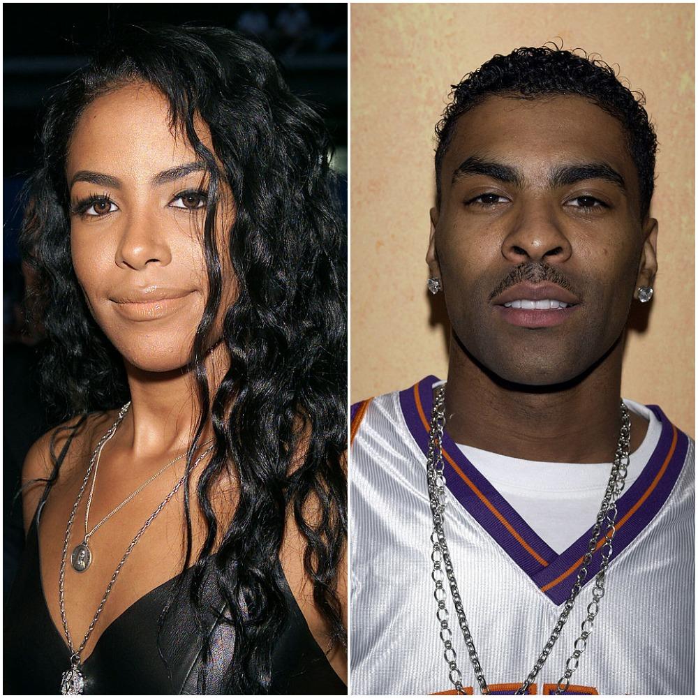 Aaliyah and Ginuwine