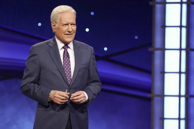 Alex Trebek on Jeopardy!