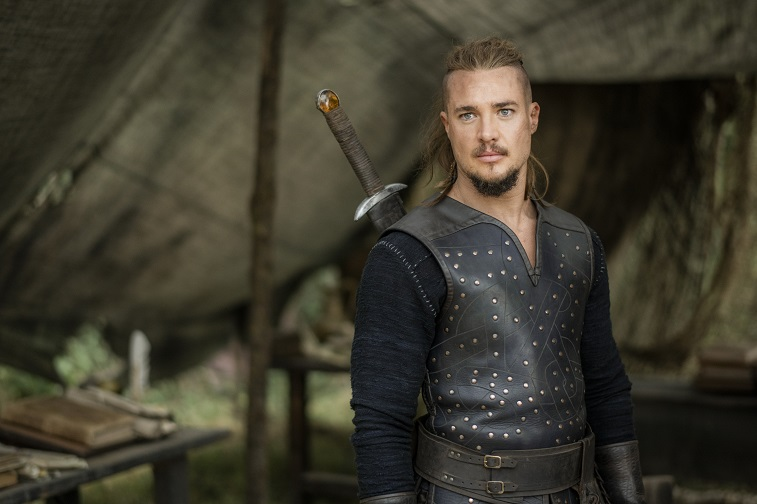 Alexander Dreymon as Uhtred in 'The Last Kingdom'