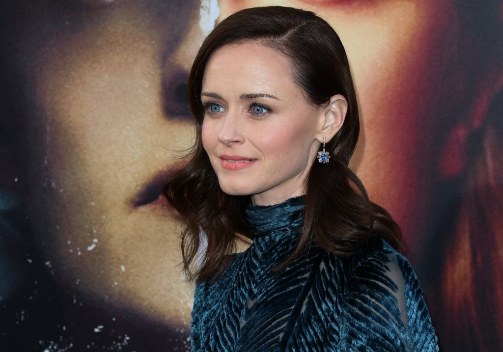 Alexis Bledel on the red carpet
