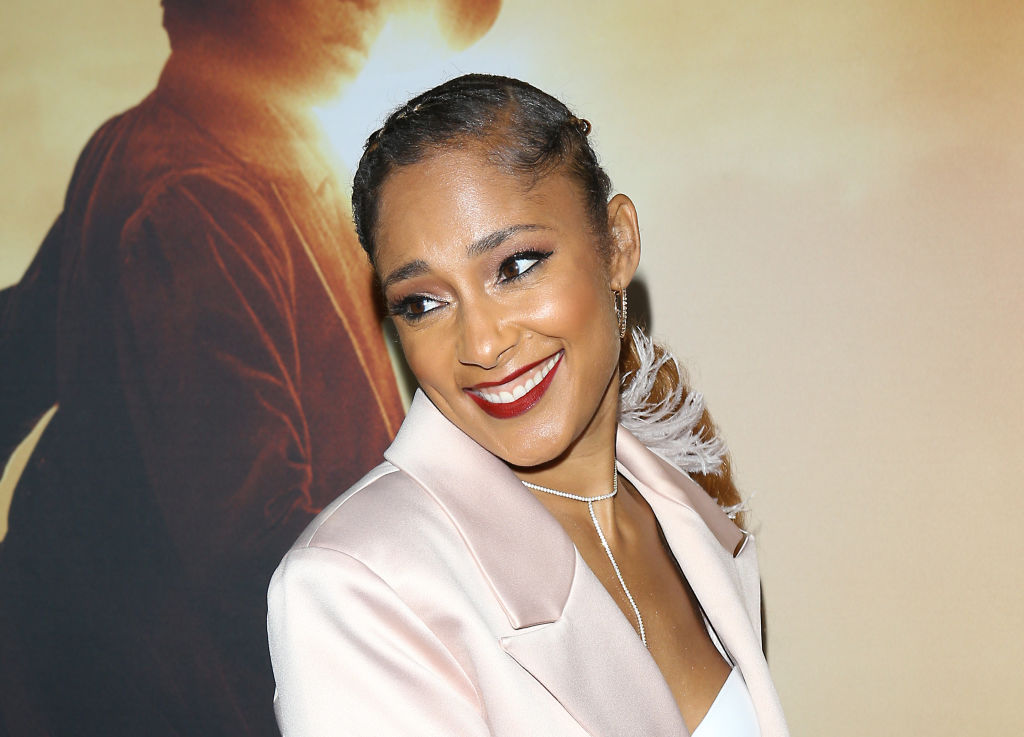 Amanda Seales at an event in October 2019