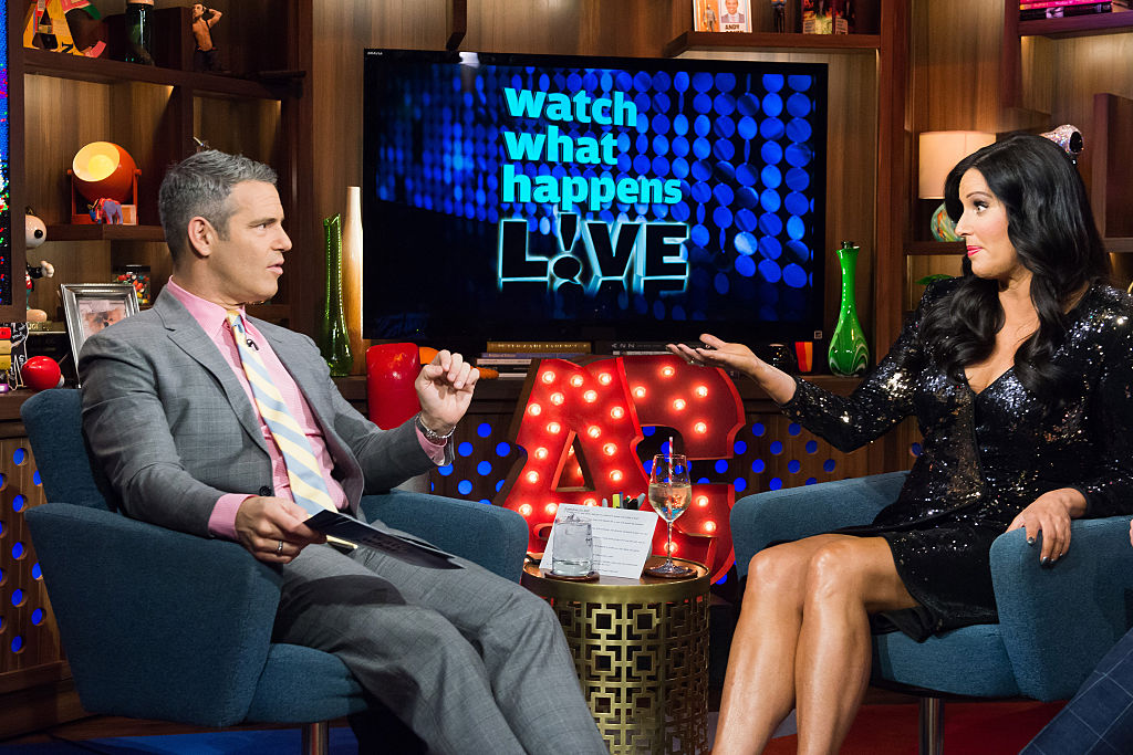 Andy Cohen and Patti Stanger