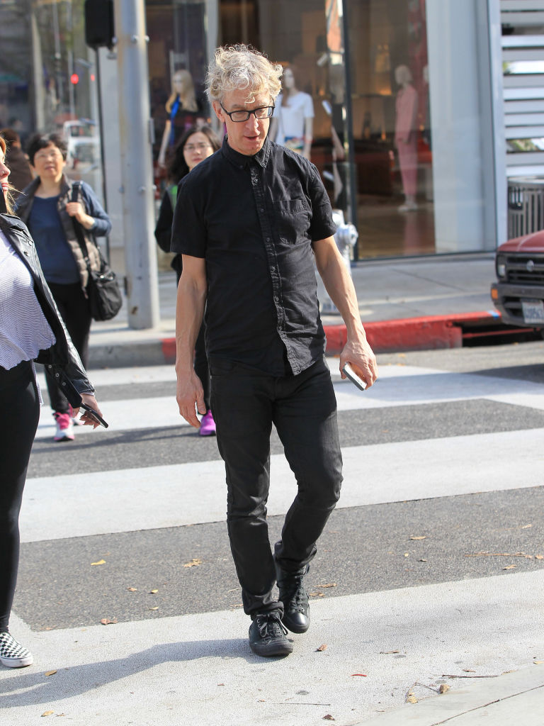 Andy Dick is seen on February 08, 2017 in Los Angeles, California.