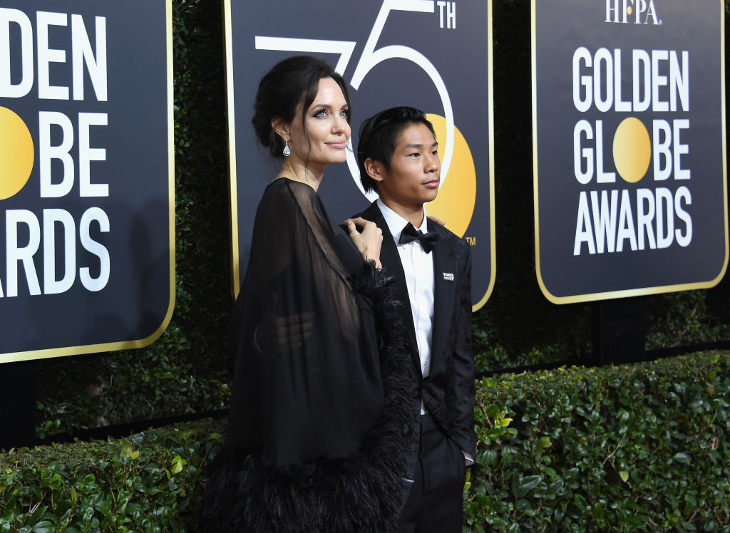Angelina Jolie Says None Of Her And Brad Pitts Kids Wants