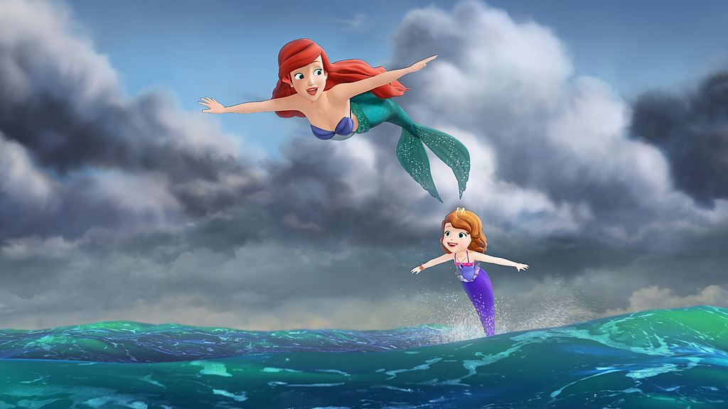 'The Little Mermaid' visits Disney Junior's 'Sofia the First'