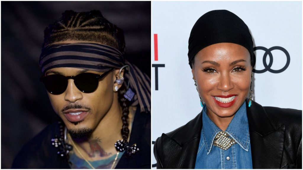 August Alsina and Jada Pinkett Smith