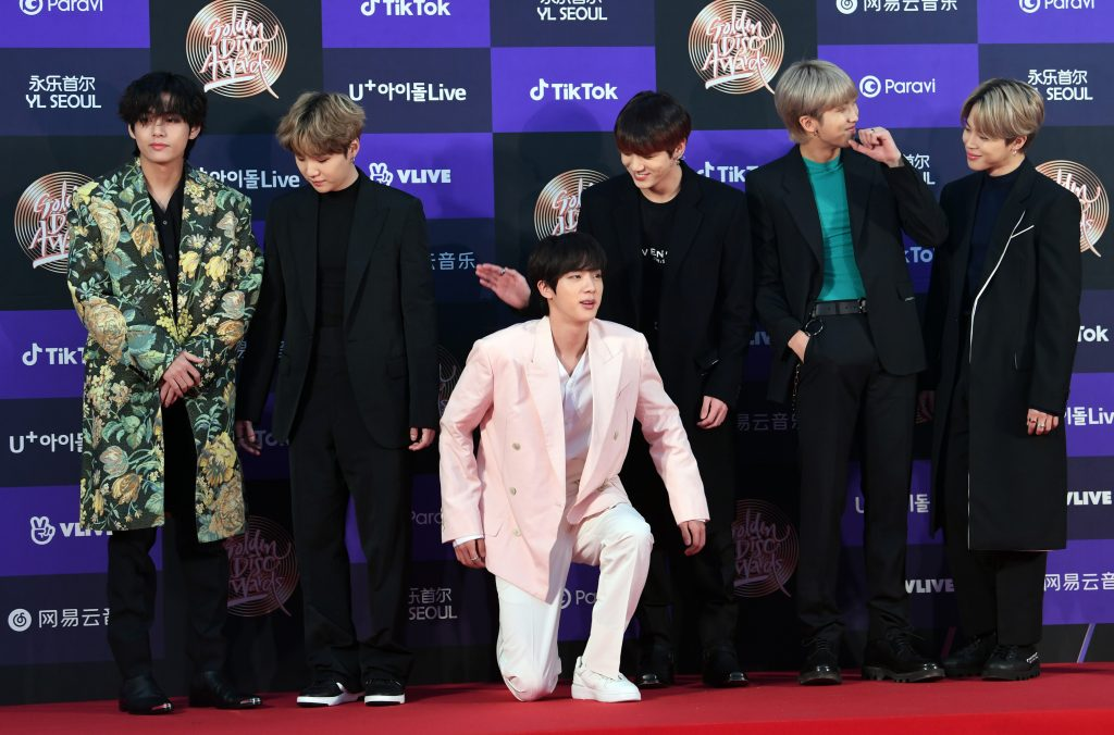 BTS at the 34th Golden Disc Awards