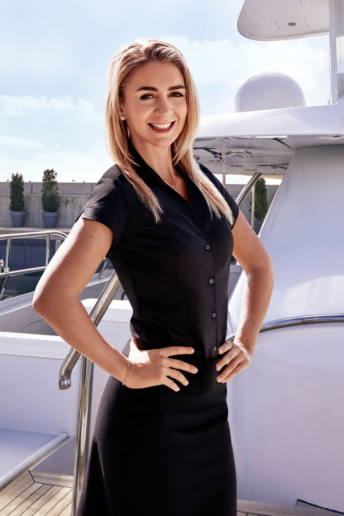 Lara Flumiani from 'Below Deck Med'
