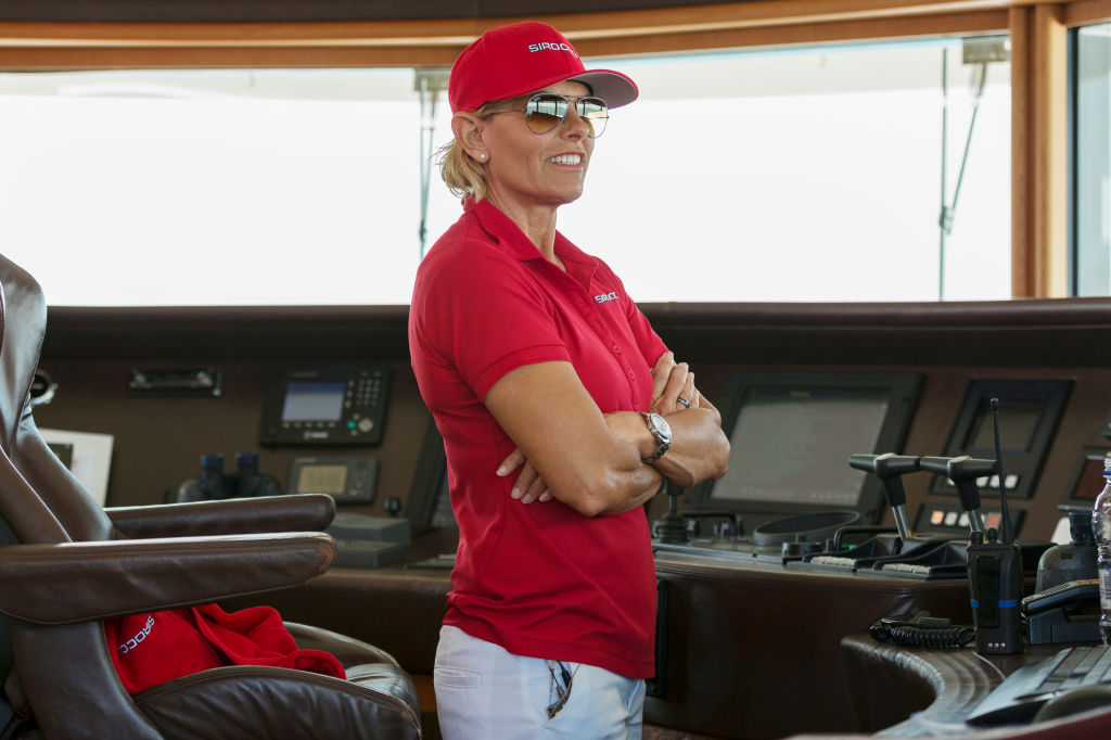 Captain Sandy Yawn from 'Below Deck Med'