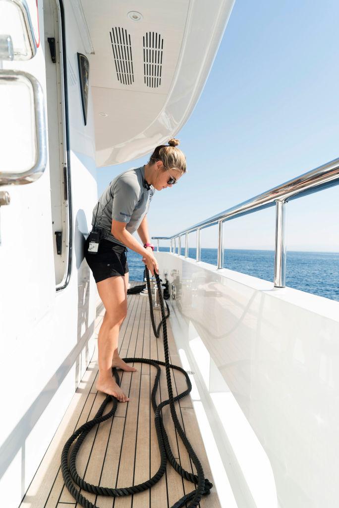 Malia White from 'Below Deck Mediterranean'