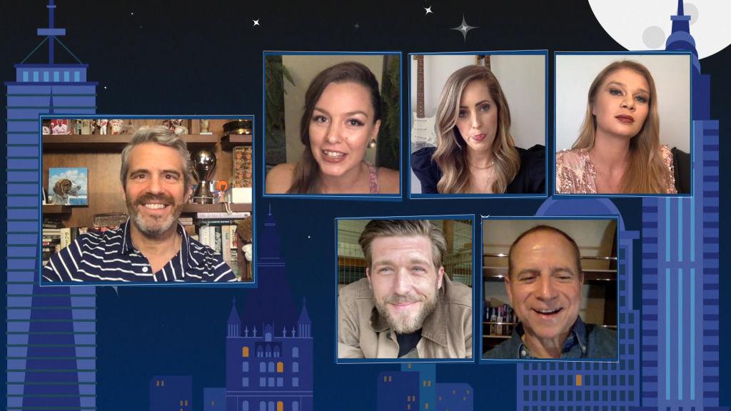Andy Cohen, Georgia Grobler, Adam Glick, Jenna MacGillivray, Captain Glenn Shephard, Madison Stalker