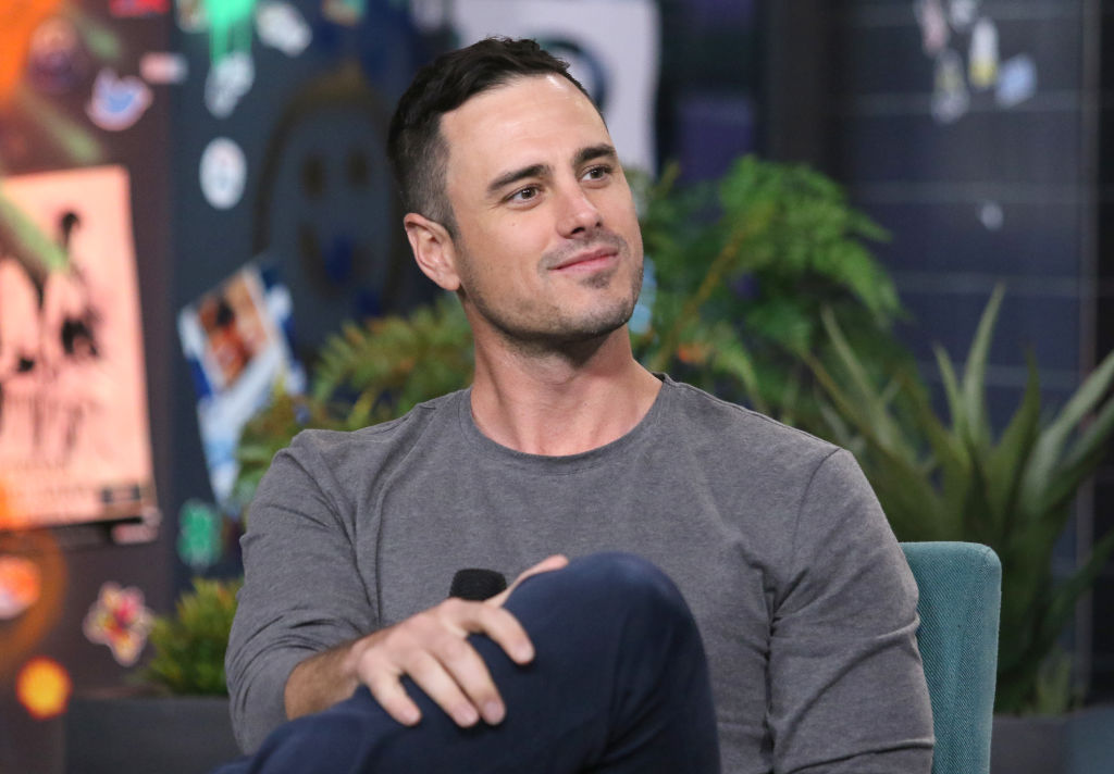 """Ben Higgins attends the Build Series to discuss """"The Bachelor Live On Stage"""" Tour at Build Studio on January 29, 2020 in New York City."""