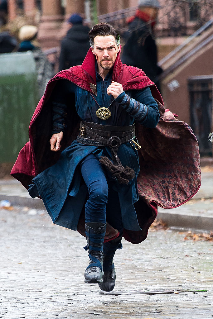Benedict Cumberbatch Doctor Strange in the MCU