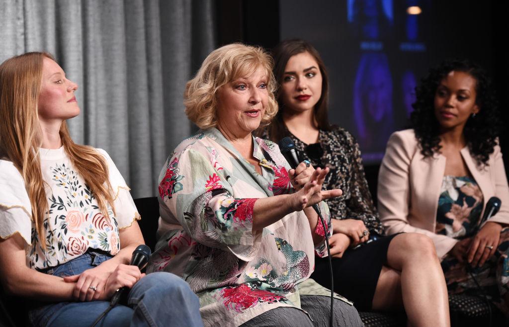Actresses Marci Miller, Beth Maitland, Victoria Konefal and Mishael Morgan