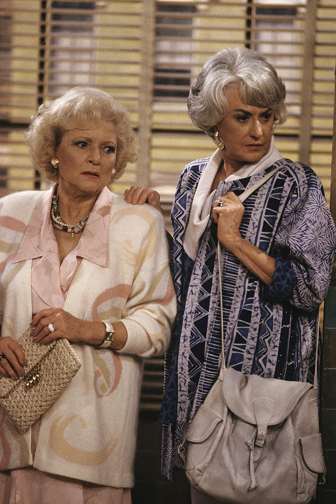 Betty White and Bea Arthur