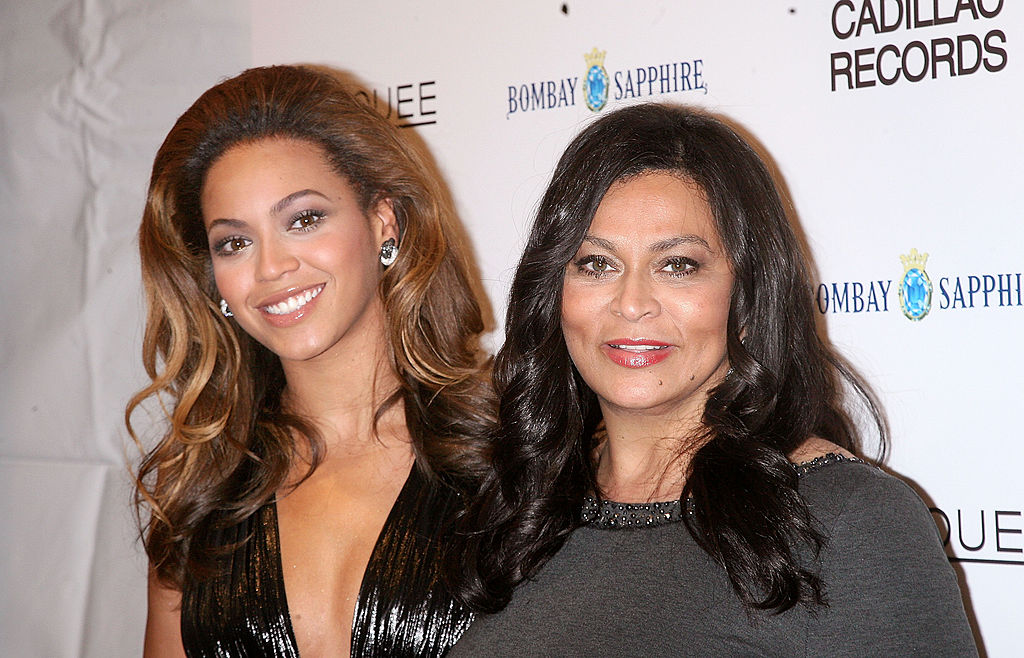 Beyoncé and Tina Knowles Lawson