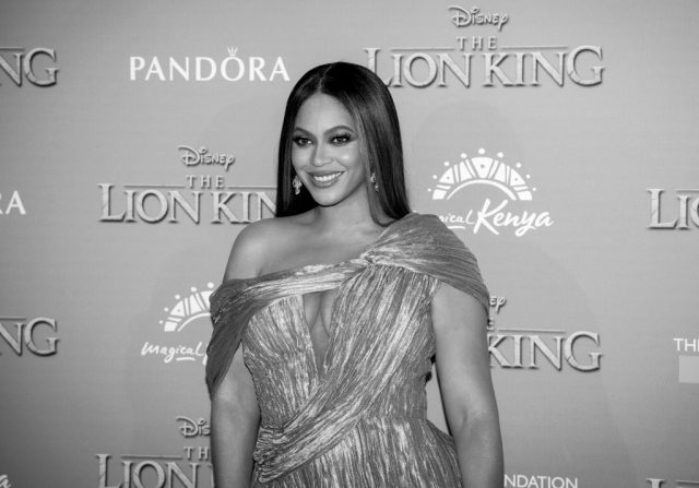 Beyoncé Knowles-Carter at the European premiere of 'The Lion King'