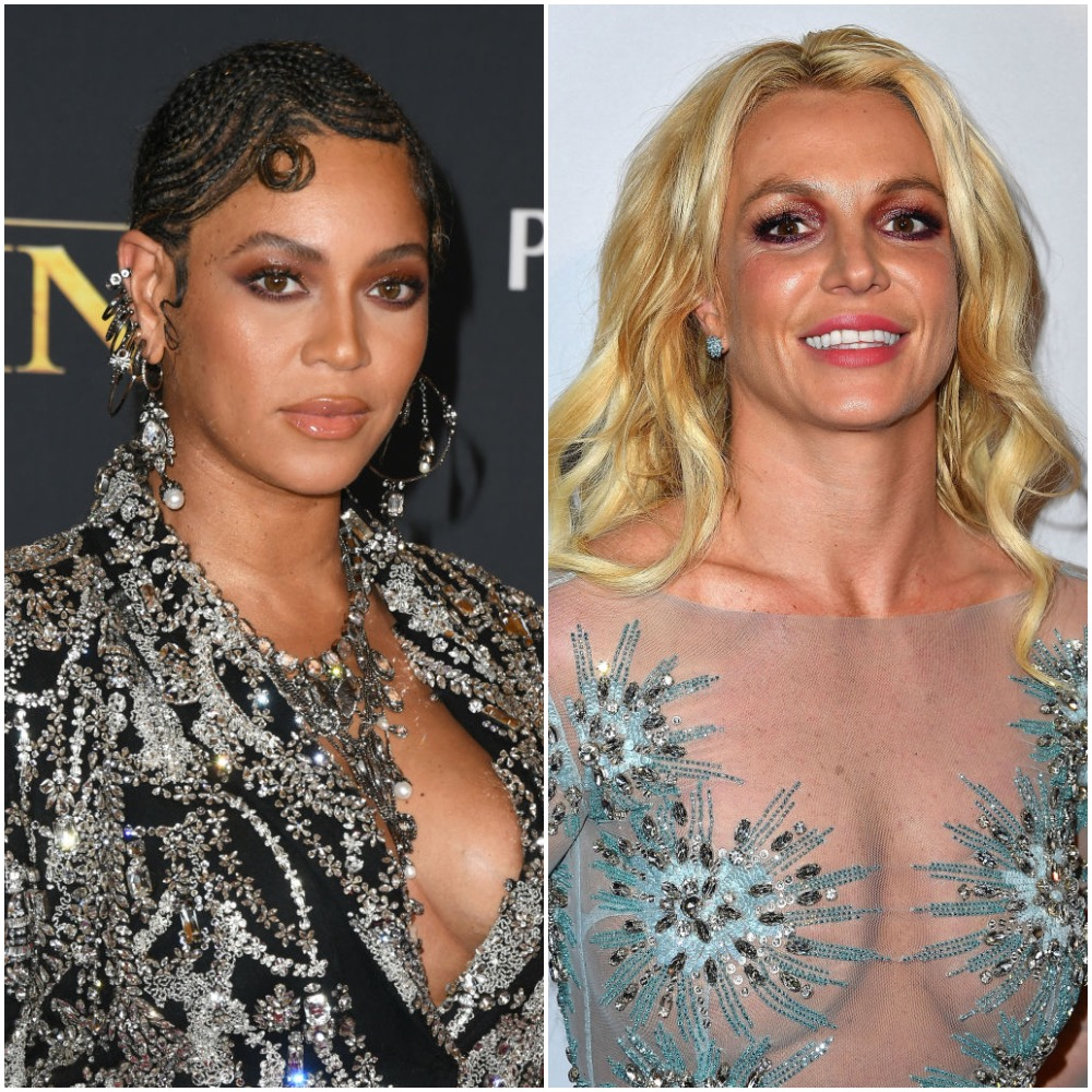 Beyoncé and Britney Spears