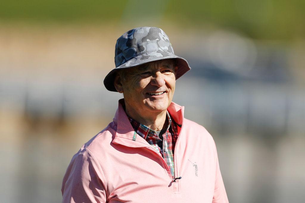 Bill Murray at Pebble Beach