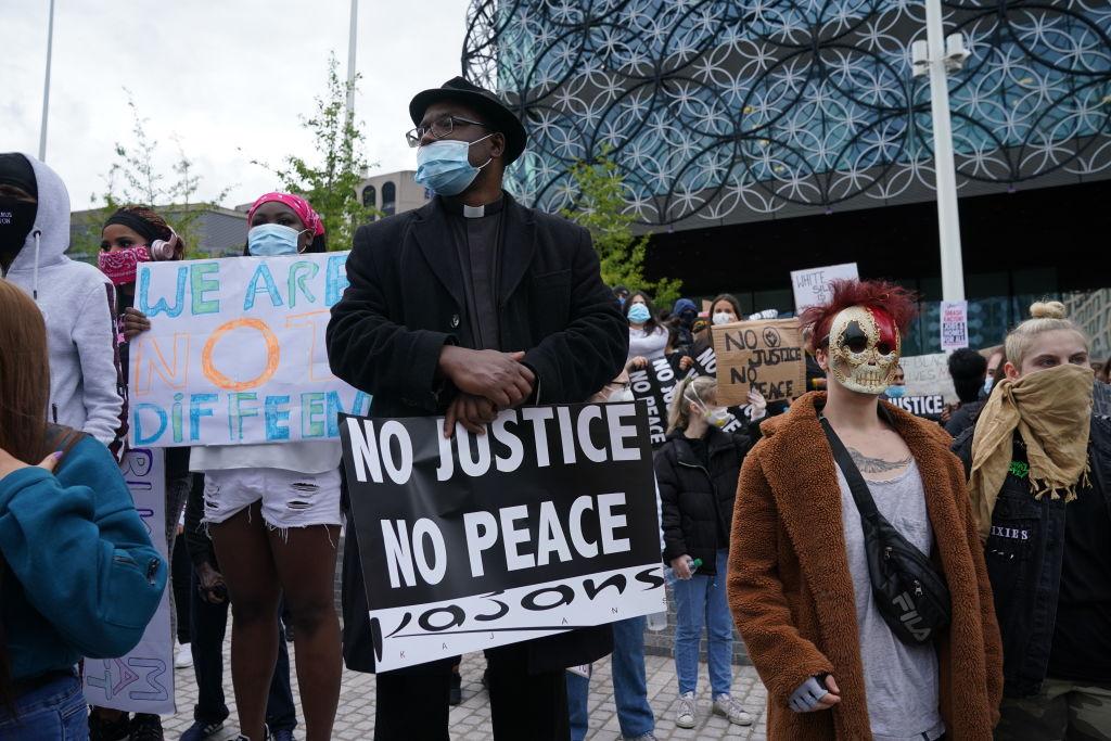 Black Lives Matter protest in the UK