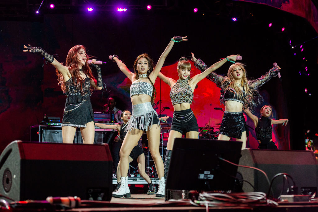 BLACKPINK performs during 2019 Coachella Valley Music And Arts Festival