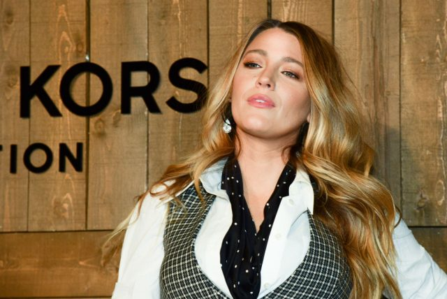 Blake Lively at the Michael Kors AW/20 Fashion Show