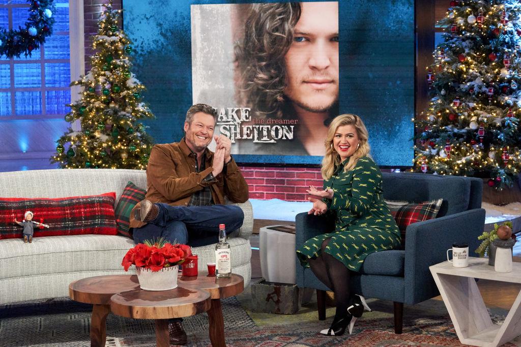Blake Shelton, Kelly Clarkson on 'The Kelly Clarkson Show'