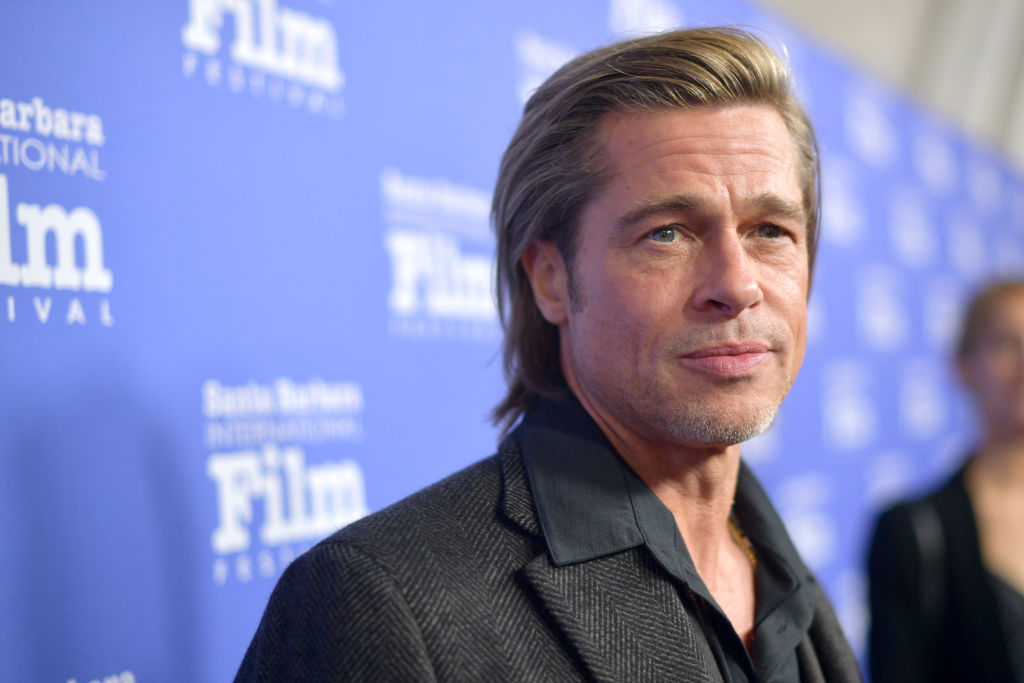 Brad Pitt attends the Maltin Modern Master Award