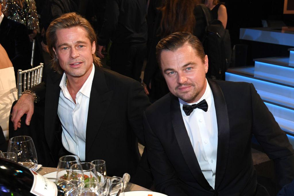 Brad Pitt and Leonardo DiCaprio attend the 26th Annual Screen ActorsGuild Awards