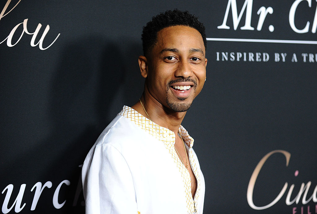 Brandon T. Jackson at a movie premiere in September 2016