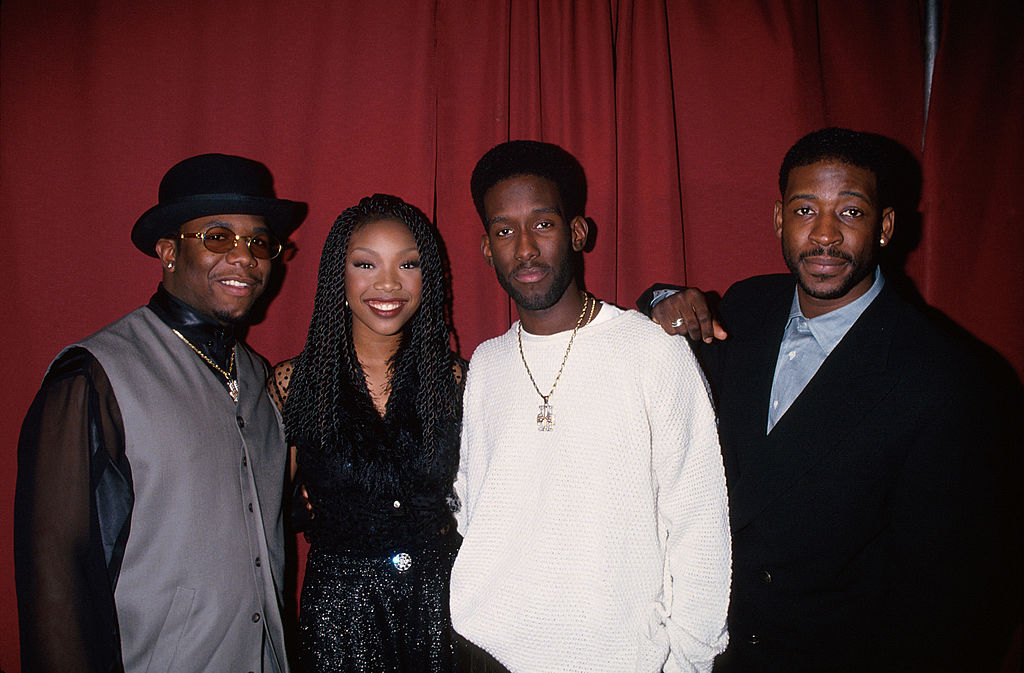 Brandy and Boyz II Men