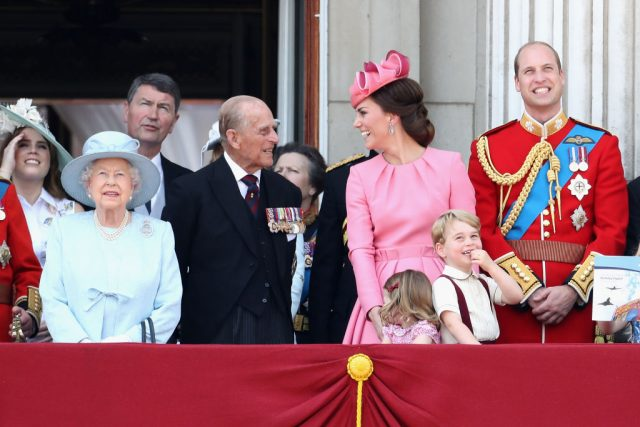 British royal family at 2017 Trooping the Colour