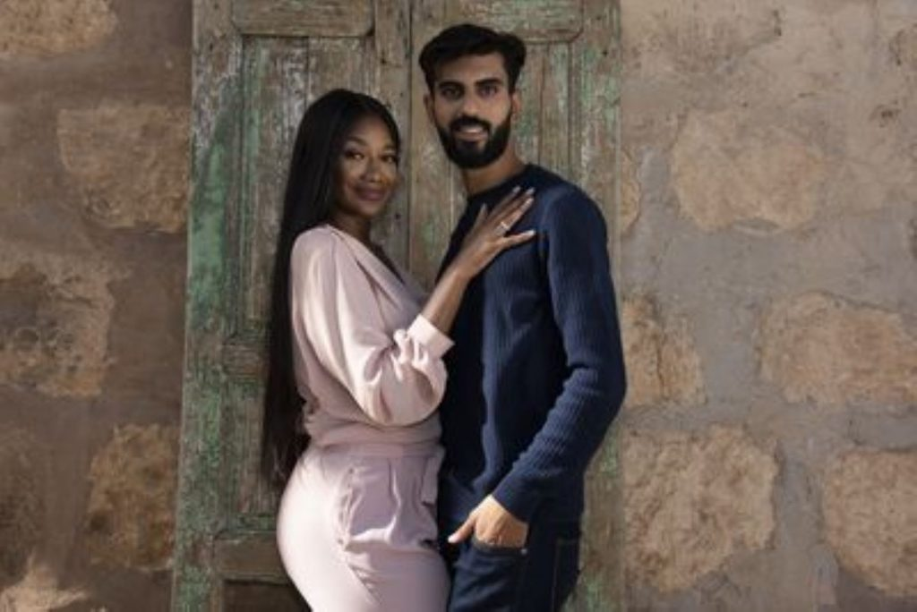 Brittany Banks and Yazan of 90 Day Fiancé