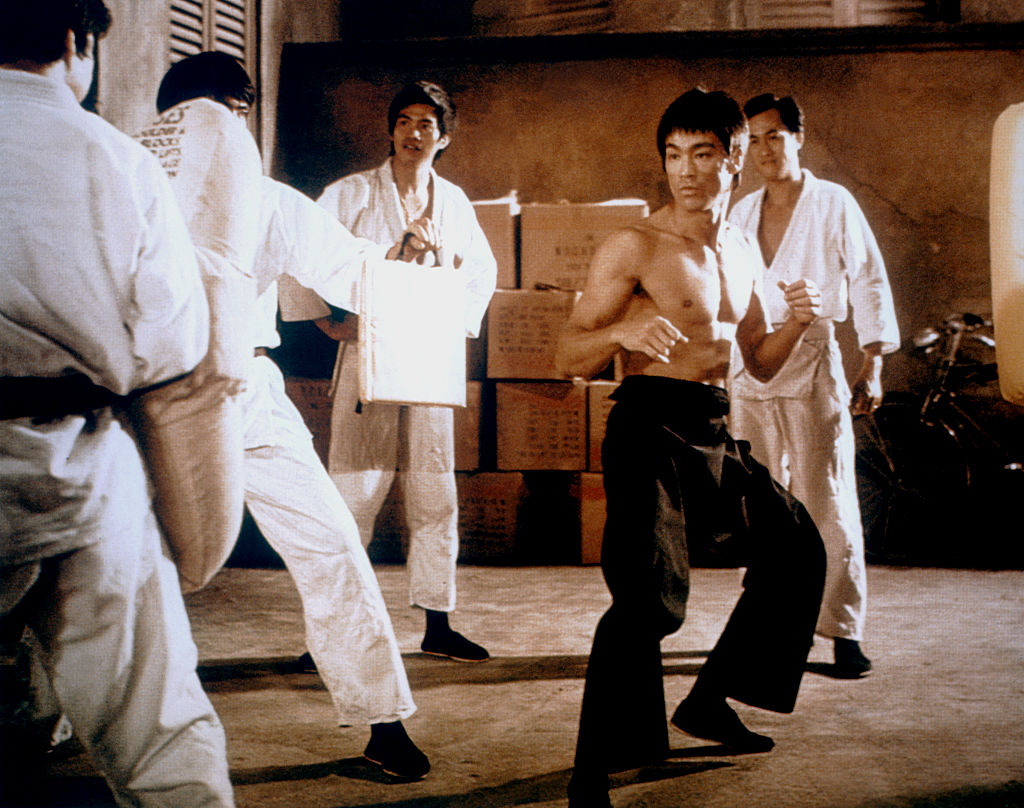 Bruce Lee in Way of the Dragon
