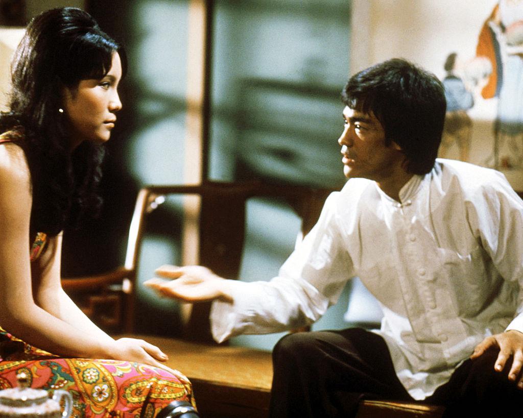 Bruce Lee and Ahna Capri