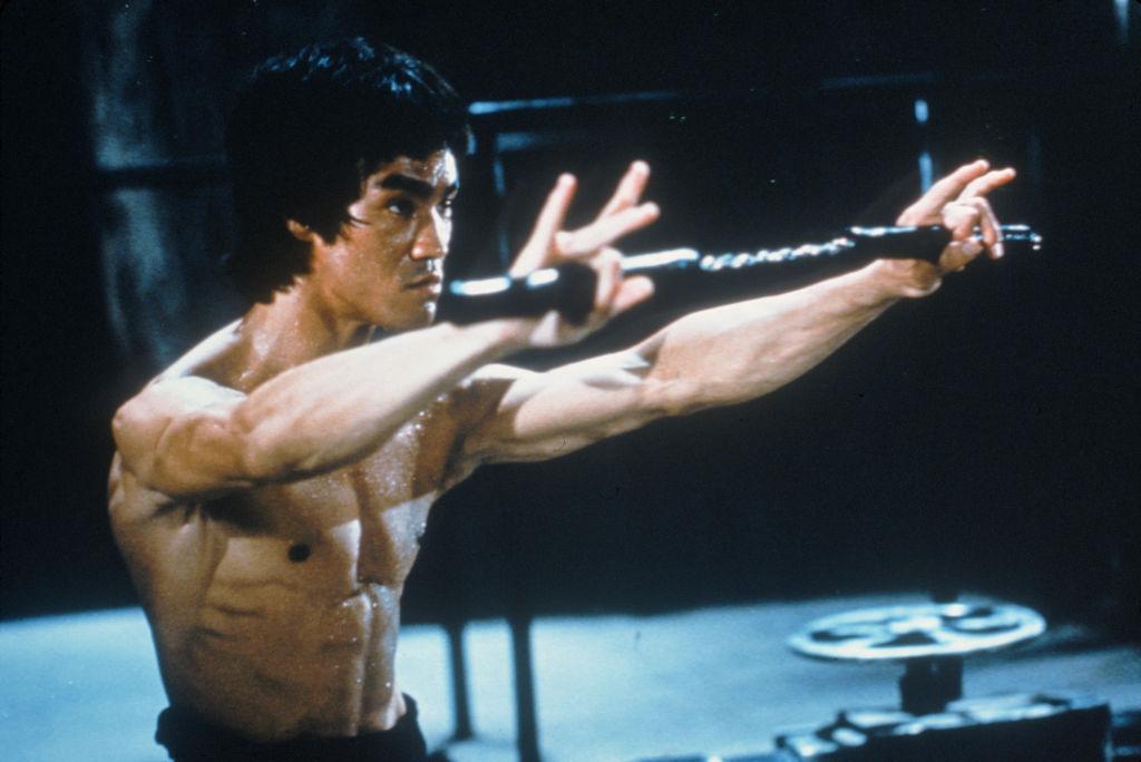 Bruce Lee nunchucks