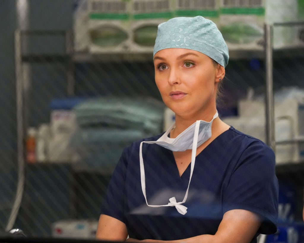 Camilla Luddington of 'Grey's Anatomy'