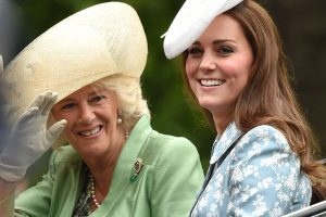 Kate Middleton and Camilla Parker Bowles at Trooping the Colour Through the Years