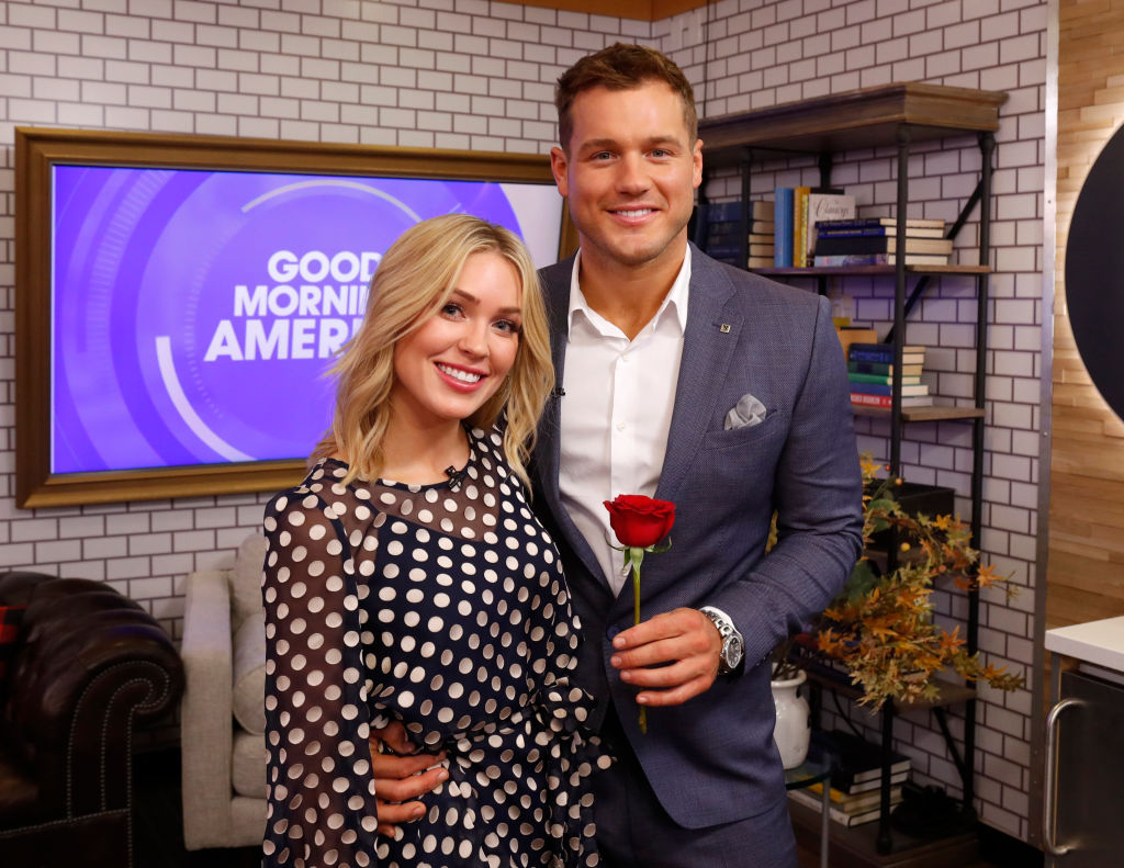 """Colton Underwood and Cassie Randolph of 'The Bachelor' on ABC's """"Good Morning America"""" - 2019"""