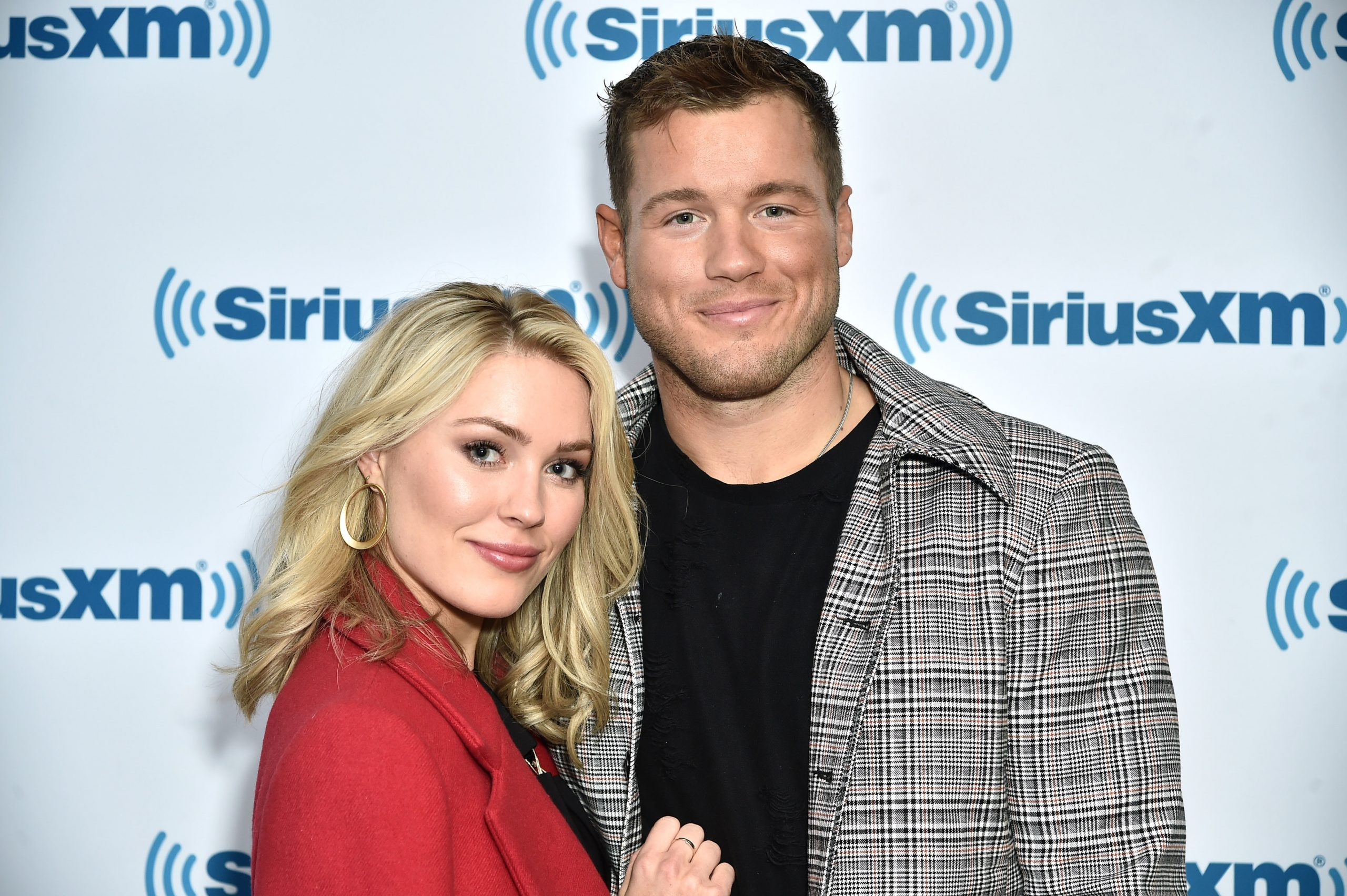 Cassie Randolph and Colton Underwood in New York